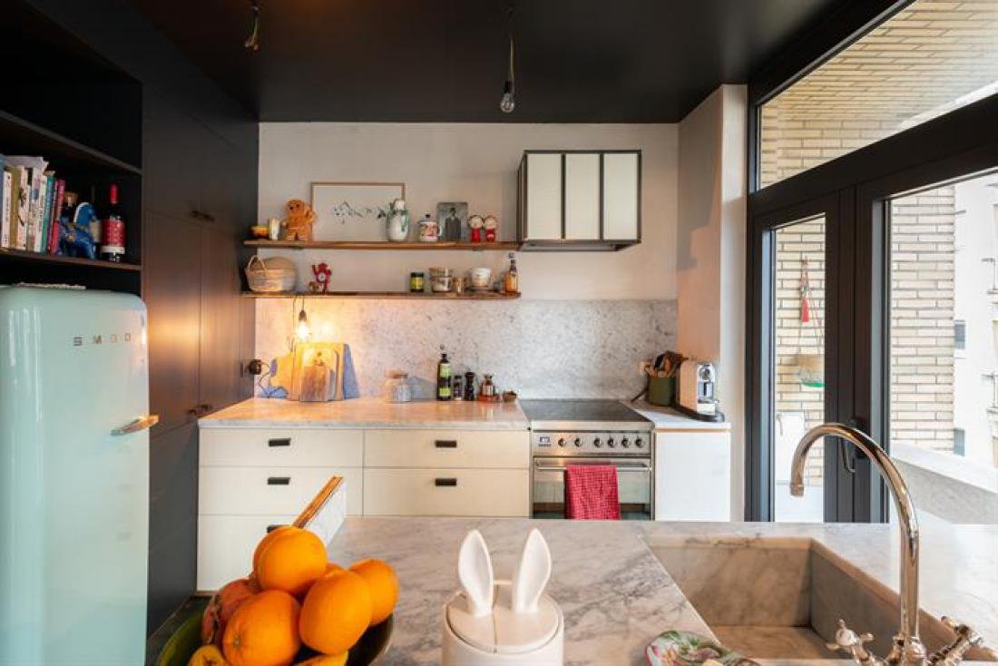Vintage chic appartement op toplocatie