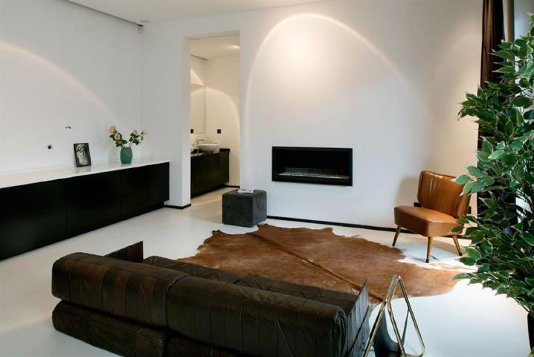 Luxueuze black & white loft