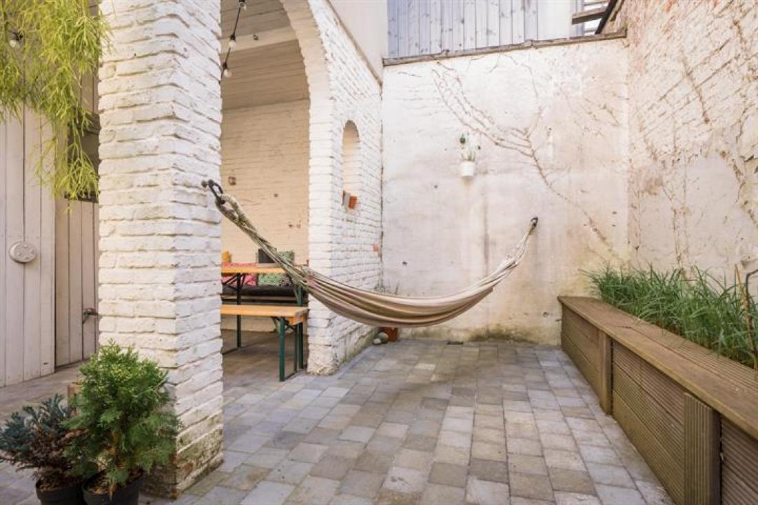 Sfeervolle burgerwoning met patio