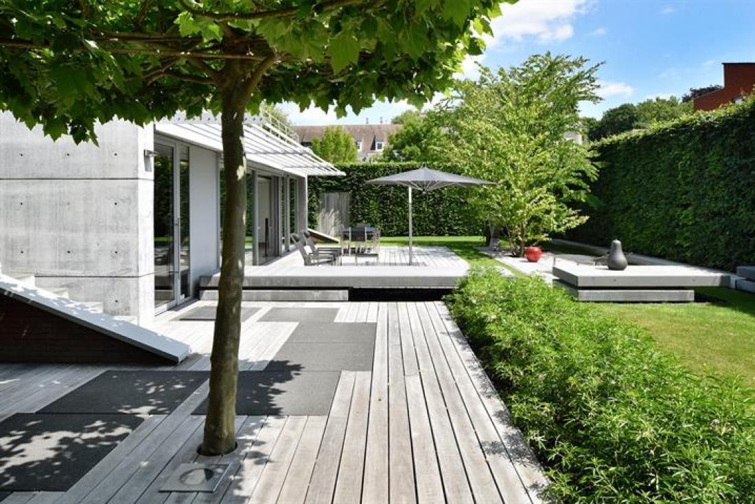 Appartement met villa-allures en riante tuin