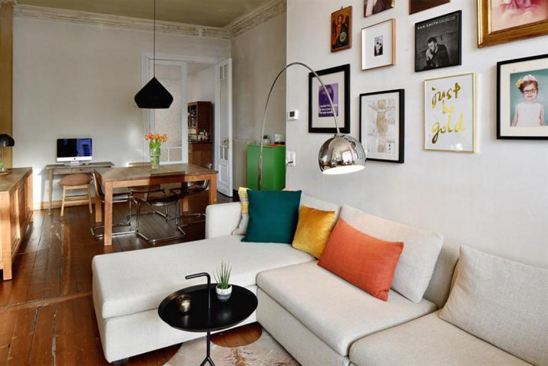 Bel-étage met studio/kantoor/praktijk