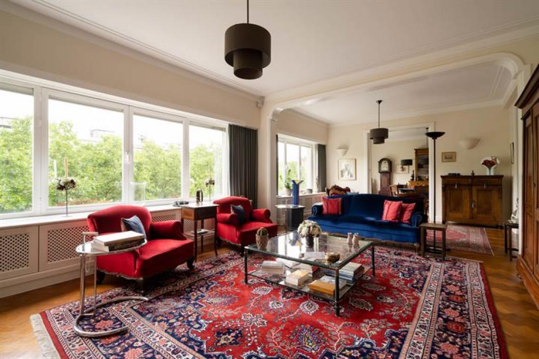 Riant modernistisch luxeappartement