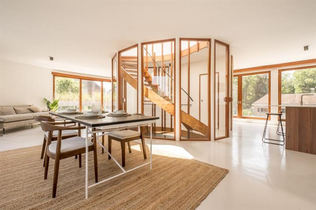 Uniek duplex penthouse app. - renovatie R. Braem