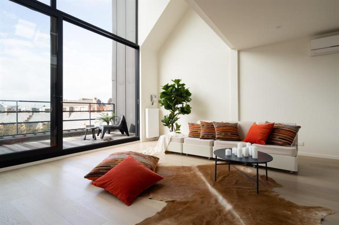 Penthouse met unieke zichten in subliem art-deco gebouw