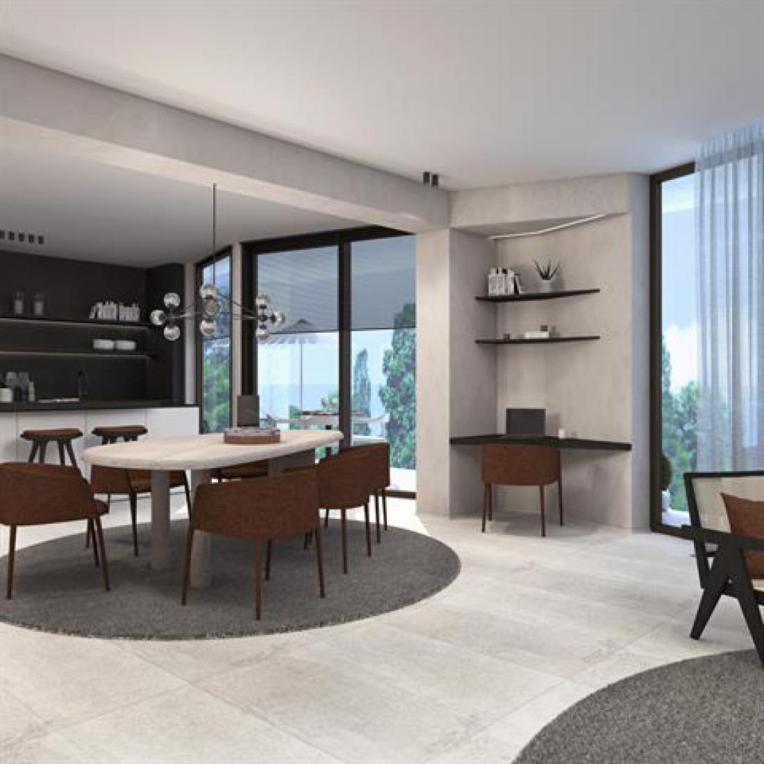 Nieuw appartement door interieurarchitecten Lievois