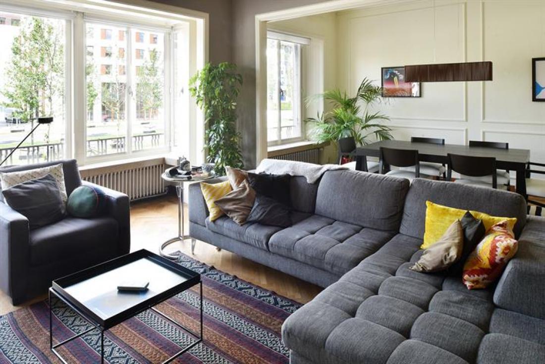 Licht en sfeervol appartement