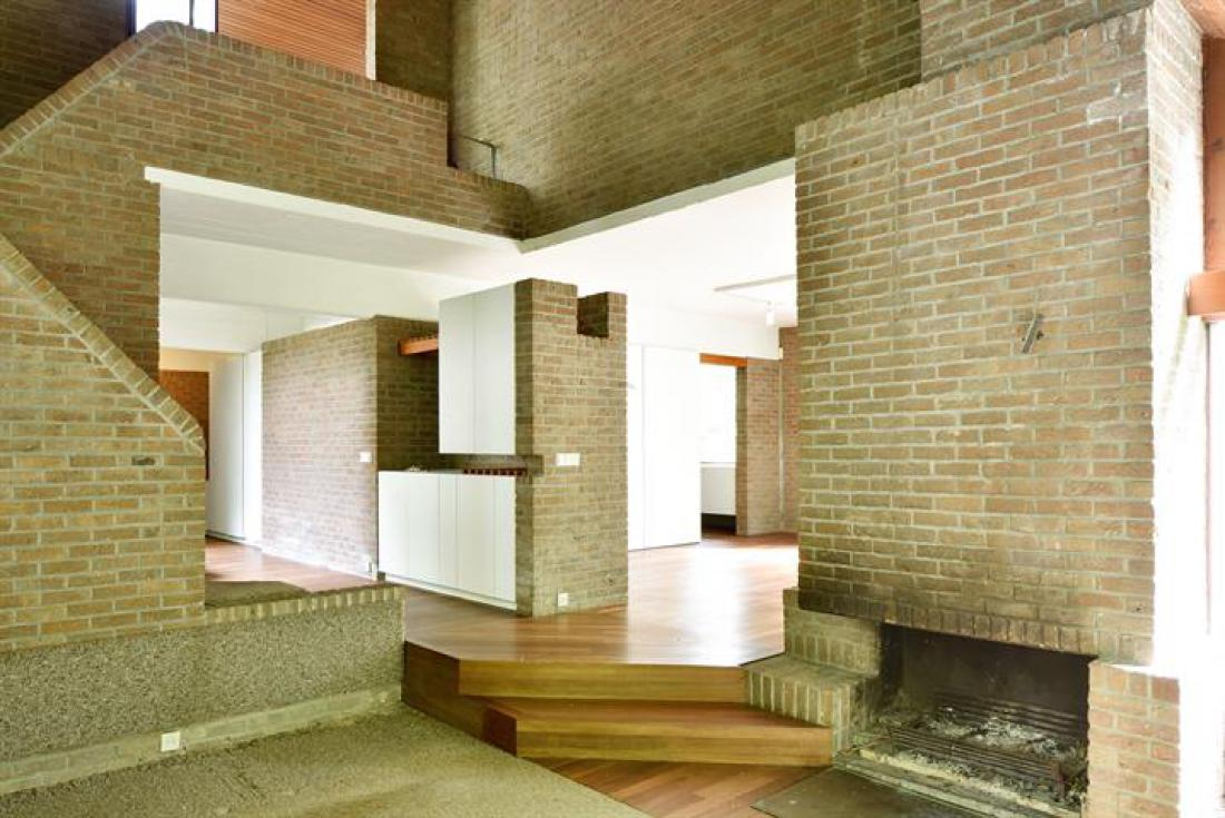 Seventies villa van arch. Lode Wouters