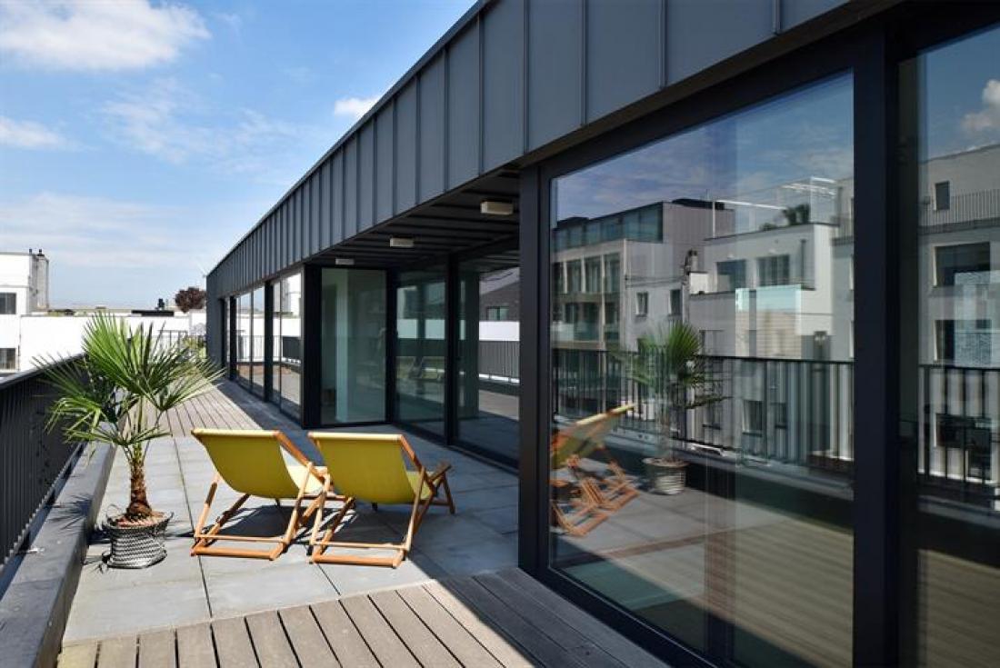 Penthouse met luxueus zwembad