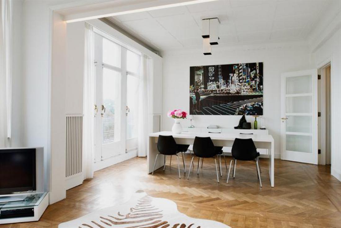 Interbellum art-deco appartement