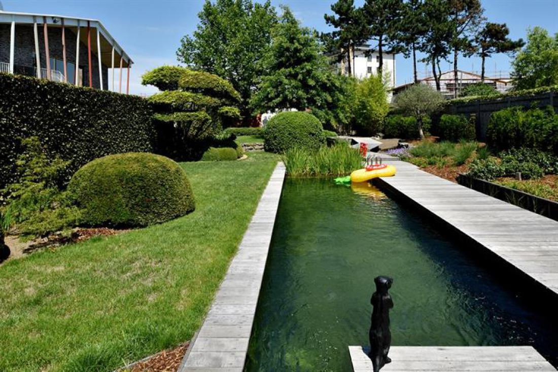 Unieke woning met zwemvijver