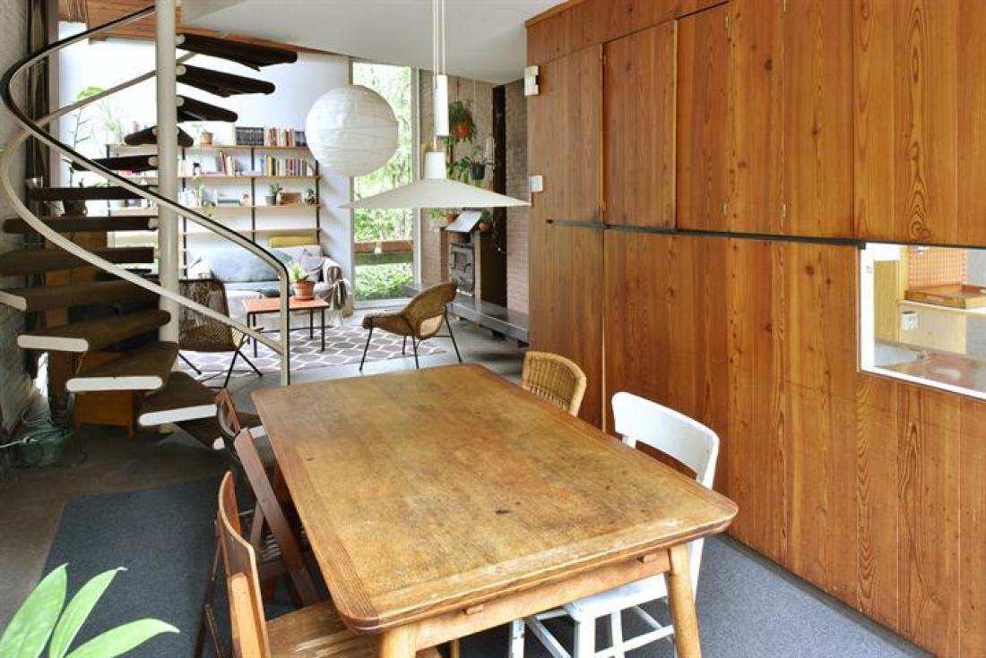 Modernistische architectenwoning van P. Meekels