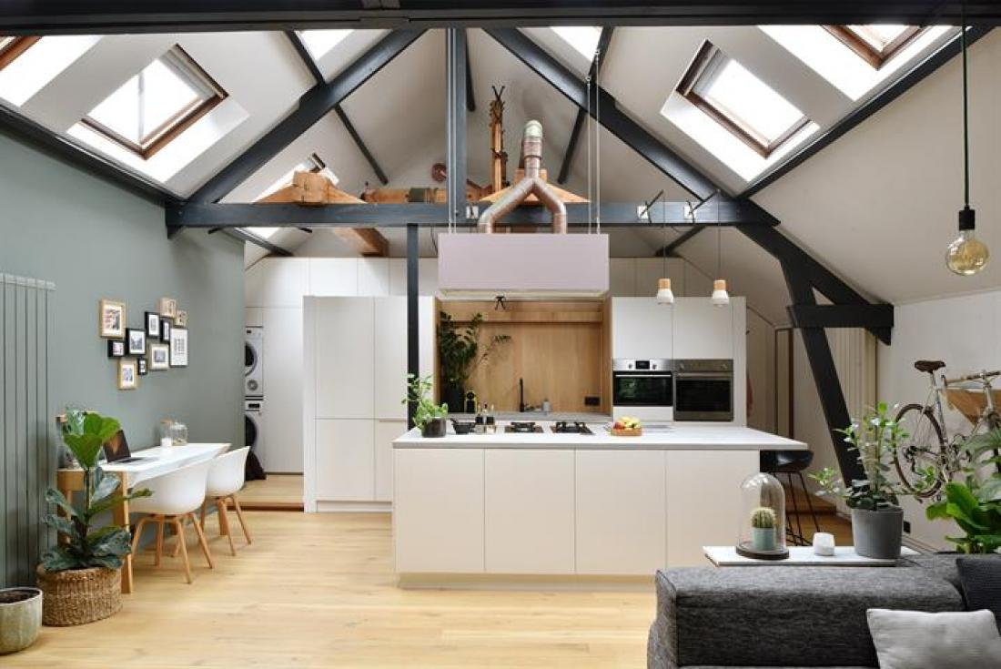 Stoere penthouse in voormalig pakhuis