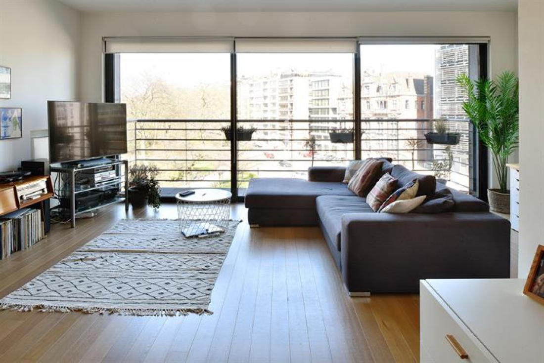 Modern app met terras en prachtig zicht