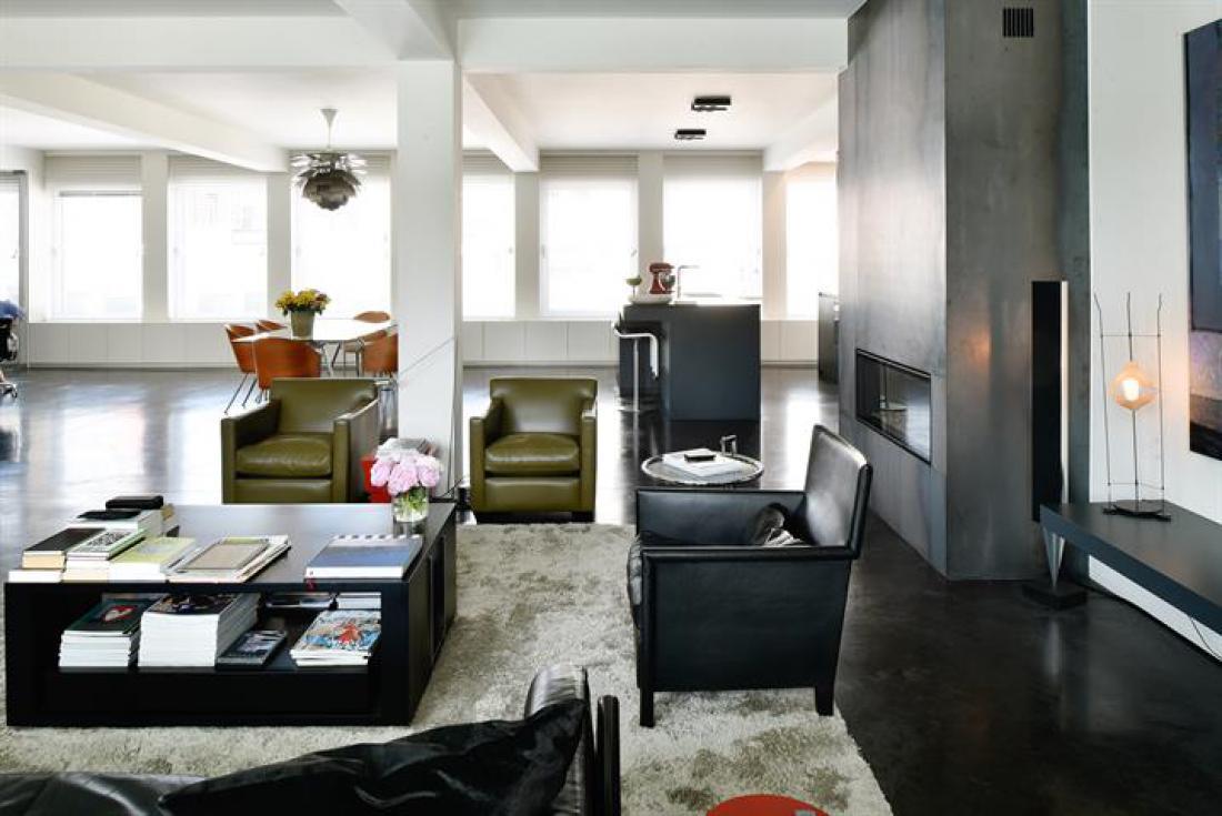 Design loft met terras en garage