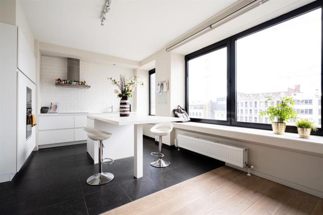 Modern appartement met panoramisch uitzicht