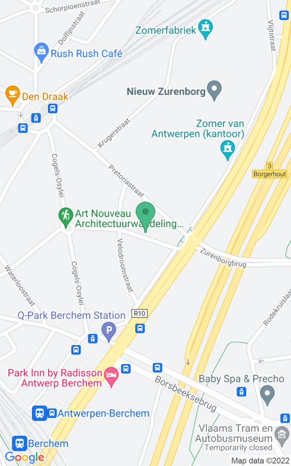 Stadsvilla met tuin op Zurenborg