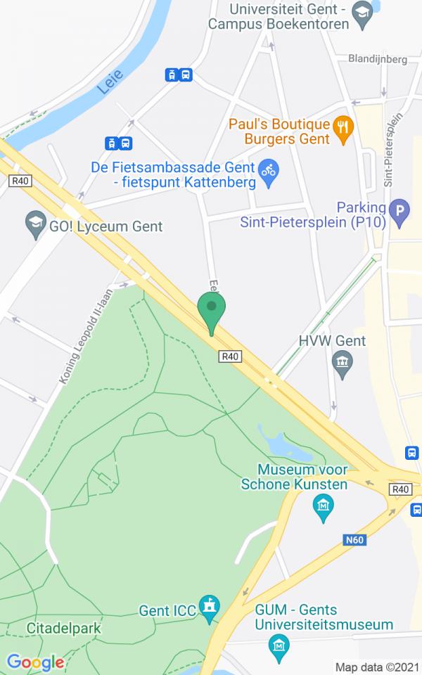 Luxueuze herenwoning met 1.200m2 tuin in hartje Gent