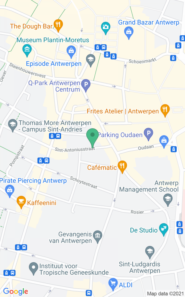 Romantische stadswoning in Antwerpse modebuurt
