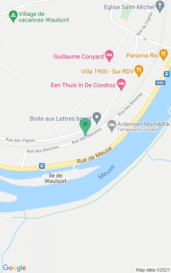 'Conciergerie' Belle-Vue aan de boorden van de Maas